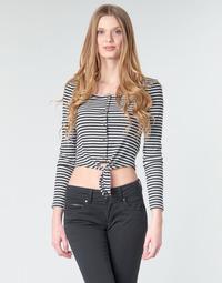 Oblečenie Ženy Blúzky Pepe jeans FALBALA Čierna