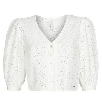 Oblečenie Ženy Blúzky Pepe jeans CLAUDIE Biela