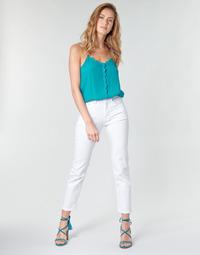 Oblečenie Ženy Rovné Rifle  Pepe jeans MARY Biela