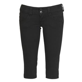 Oblečenie Ženy Nohavice 7/8 a 3/4 Pepe jeans VENUS CROP Čierna