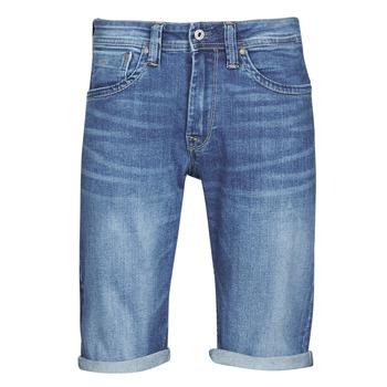 Oblečenie Muži Šortky a bermudy Pepe jeans CASH Modrá / Medium