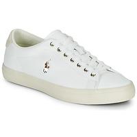Topánky Muži Nízke tenisky Polo Ralph Lauren LONGWOOD-SNEAKERS-VULC Biela
