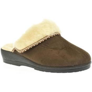 Topánky Ženy Papuče Mjartan Dámske papuče  ZORA hnedá