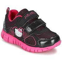 Topánky Dievčatá Nízke tenisky Hello Kitty BASEMO PHYL čierna