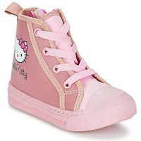 Topánky Dievčatá Členkové tenisky Hello Kitty TANSIOUR Ružová