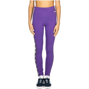 Oblečenie Ženy Tepláky a vrchné oblečenie Fila WOMEN PHILINE leggings a033-tillandsia-purple