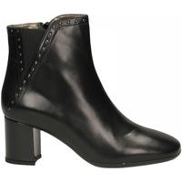 Topánky Ženy Derbie Enval D DI 42973 - CAPRA SOFT nero