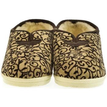 Topánky Ženy Papuče Mjartan Dámske papuče  LUNA béžová