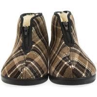 Topánky Muži Papuče Mjartan Pánske papuče  EDO hnedá
