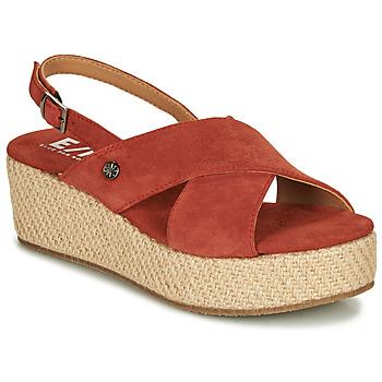 Topánky Ženy Sandále Elue par nous GESIEL Červená