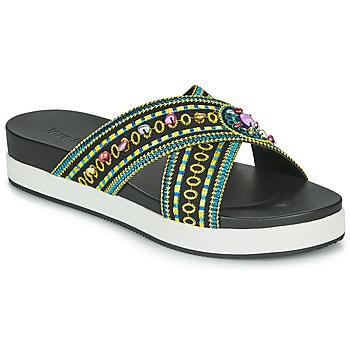 Topánky Ženy Šľapky Desigual SHOES_NILO_BEADS Čierna