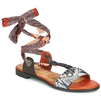 Topánky Ženy Sandále Desigual JUNGLE AFRICA Námornícka modrá / Biela