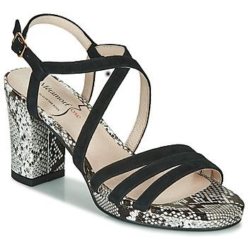 Topánky Ženy Sandále Metamorf'Ose GABARIT Čierna / Hadí vzor