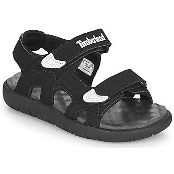 Topánky Deti Sandále Timberland Perkins Row 2-Strap Čierna