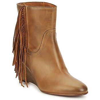 Topánky Ženy Čižmičky JFK ALEX HI ťavia hnedá