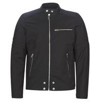 Oblečenie Muži Kožené bundy a syntetické bundy Diesel J-GLORY Čierna