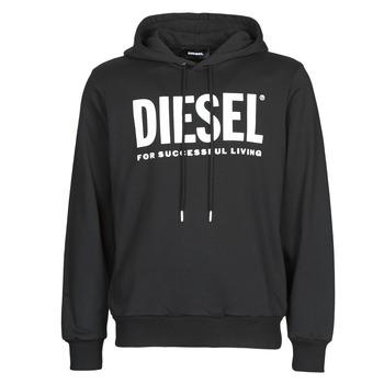 Oblečenie Muži Mikiny Diesel GIR-HOOD-DIVISION Čierna