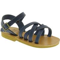 Topánky Muži Sandále Attica Sandals HEBE NUBUK BLUE blu
