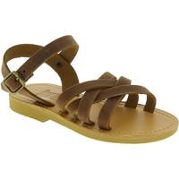 Topánky Dievčatá Sandále Attica Sandals HEBE NUBUK DK BROWN Marrone medio