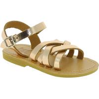 Topánky Dievčatá Sandále Attica Sandals HEBE CALF GOLD PINK Oro rosa
