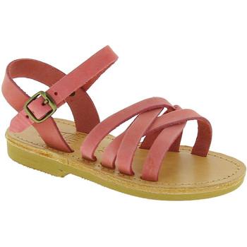 Topánky Dievčatá Sandále Attica Sandals HEBE NUBUK PINK Rosa chiaro
