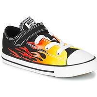 Topánky Dievčatá Nízke tenisky Converse CHUCK TAYLOR ALL STAR 1V - OX Čierna / Žltá