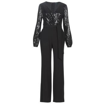 Oblečenie Ženy Módne overaly Lauren Ralph Lauren  Čierna