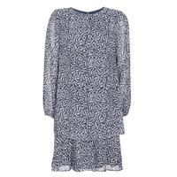 Oblečenie Ženy Krátke šaty Lauren Ralph Lauren Alois Námornícka modrá / Biela