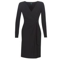 Oblečenie Ženy Dlhé šaty Lauren Ralph Lauren  Čierna