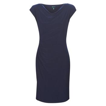 Oblečenie Ženy Krátke šaty Lauren Ralph Lauren Ancelin Námornícka modrá