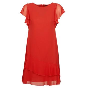Oblečenie Ženy Krátke šaty Lauren Ralph Lauren Arolde Červená