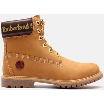 Topánky Ženy Čižmičky Timberland 6in prem w/sock colar Hnedá