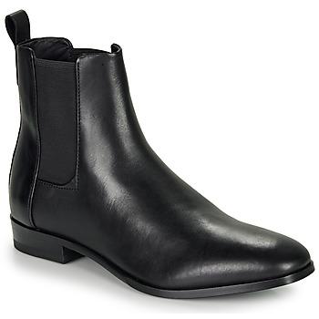 Topánky Muži Polokozačky HUGO CULT CHEB ITPL Čierna