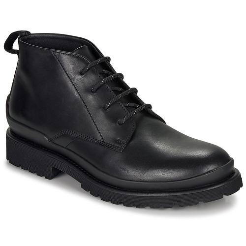 Topánky Muži Polokozačky HUGO SCOUT DESB IT Čierna