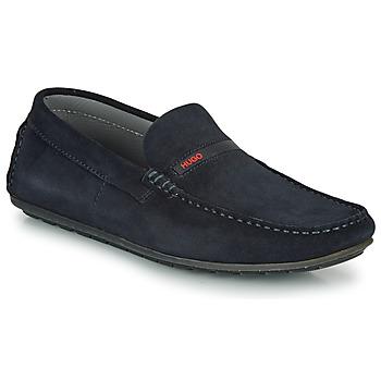 Topánky Muži Mokasíny HUGO DANDY MOCC SD2 Modrá