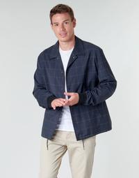 Oblečenie Muži Bundy  HUGO UROQ2022 Námornícka modrá