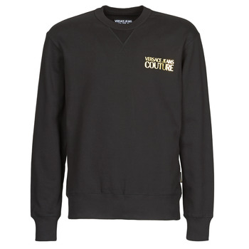 Oblečenie Muži Mikiny Versace Jeans Couture B7GVA7FB Čierna / Zlatá