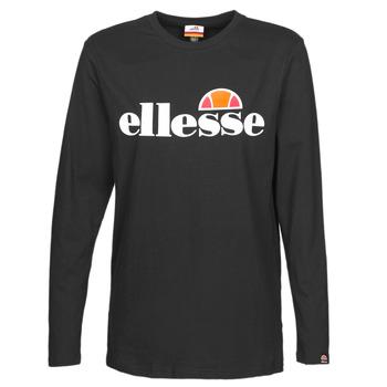 Oblečenie Ženy Tričká s dlhým rukávom Ellesse PAP GRAZIE Čierna
