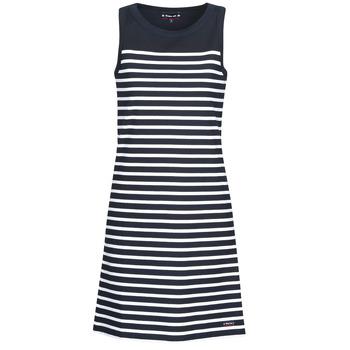 Oblečenie Ženy Krátke šaty Armor Lux YITINE Námornícka modrá / Biela