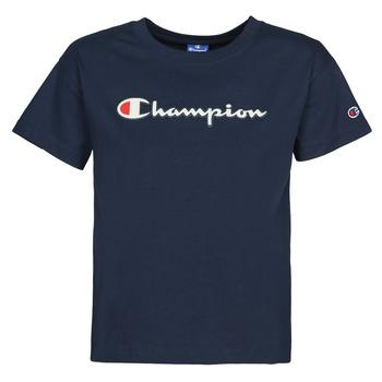 Oblečenie Ženy Tričká s krátkym rukávom Champion KOOLATE Námornícka modrá