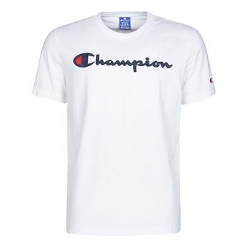 Oblečenie Muži Tričká s krátkym rukávom Champion 214194 Biela