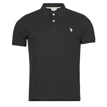 Oblečenie Muži Polokošele s krátkym rukávom U.S Polo Assn. INSTITUTIONAL POLO Čierna