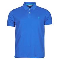 Oblečenie Muži Polokošele s krátkym rukávom U.S Polo Assn. INSTITUTIONAL POLO Modrá