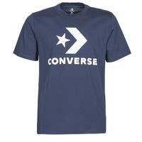 Oblečenie Muži Tričká s krátkym rukávom Converse Star Chevron Tee Čierna