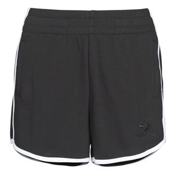 Oblečenie Ženy Šortky a bermudy Converse TWISTED VARSITY SHORT Čierna