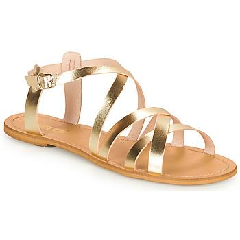 Topánky Ženy Sandále So Size IDITRON Zlatá