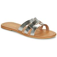 Topánky Ženy Šľapky So Size MELINDA Strieborná