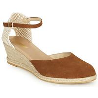 Topánky Ženy Sandále So Size JITRON Ťavia hnedá