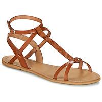 Topánky Ženy Sandále So Size BEALO Ťavia hnedá