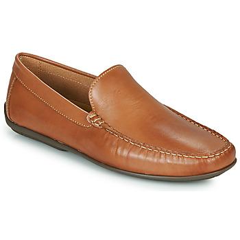 Topánky Muži Mokasíny So Size MILLIE Ťavia hnedá